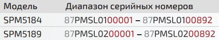 STARWIND SPM5184 и SPM5189
