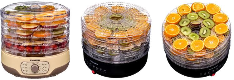 Время заготовок: STARWIND представляет новые электрические сушки для фруктов и овощей